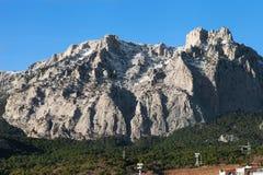 View of Mount Ai-Petri Stock Photos