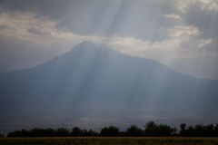 View of mount Ararat Royalty Free Stock Photo