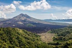 View of Mount Batur, Bali Island, Indonesia Stock Photos