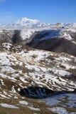 View of Mount Elbrus Stock Photo