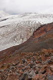 View from Mount Elbrus Royalty Free Stock Photos