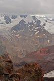 View from Mount Elbrus Stock Photo