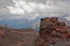 View from Mount Elbrus Stock Photography