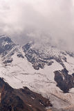 View from Mount Elbrus Royalty Free Stock Photography