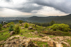 View from Mount Entoto Stock Photography