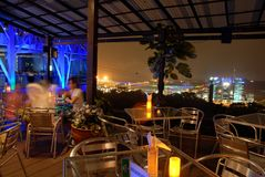 View from Mount Faber Royalty Free Stock Images