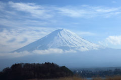 View of Mount Fuji Royalty Free Stock Photos