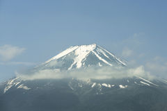 View of Mount Fuji from Kawaguchiko in May, Japan Royalty Free Stock Image