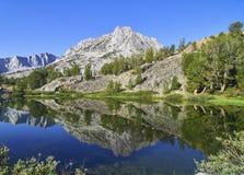 Long Lake, Bishop Pass Trail, Eastern Sierra, California Royalty Free Stock Photos