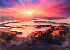 View from Mount Hamster Royalty Free Stock Images