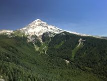 A view of Mount Hood from Bald Mountain Royalty Free Stock Photos