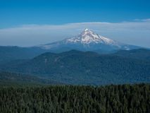 Mount Hood in Oregon state, USA royalty free stock photo