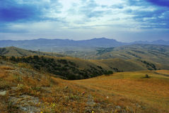 View from Mount Kokush-kai Royalty Free Stock Photography