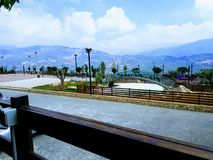 View from Mount Lebanon stock images