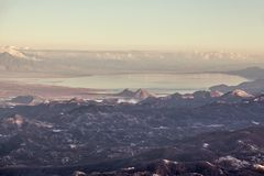 View from Mount Lovcen. Royalty Free Stock Photography