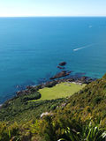 View from Mount Maunganui Stock Images