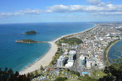 View from Mount Maunganui Stock Photography
