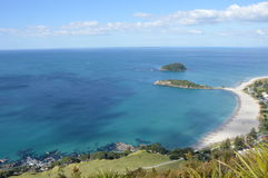 View from Mount Maunganui Royalty Free Stock Photo