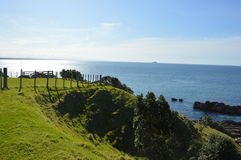 View from Mount Maunganui Royalty Free Stock Photography