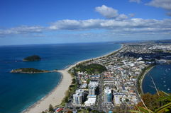 View from Mount Maunganui Royalty Free Stock Image