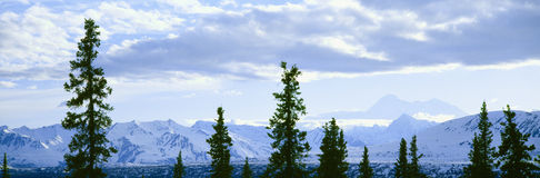 View of Mount McKinley, Stock Photo