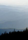 View from Mount Mitchell Royalty Free Stock Photo