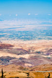View from Mount Nebo in Jordan Royalty Free Stock Photos