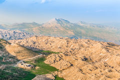 View from Mount Nemrut, Adiyaman, Turkey Stock Photos