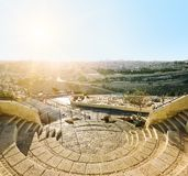 View from the mount of Olives. Royalty Free Stock Photo