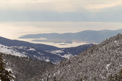 View From Mount Parnassos Royalty Free Stock Photos
