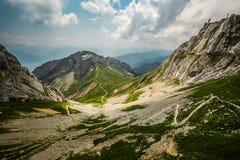 View of Mount Pilatus, a summer Swiss landscape Stock Photography