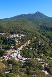 View from Mount Popa in Burma (Myanmar) Royalty Free Stock Image