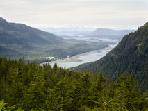 View from Mount Roberts, Juneau Stock Image