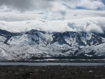 View of Mount Rose taken from Washoe Valley, NV Royalty Free Stock Photos