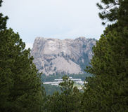 View of Mount Rushmore Stock Photography