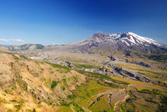 A view of mount saint helens Stock Images