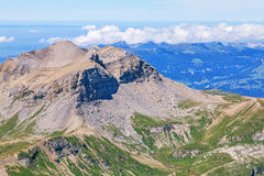 View from Mount Schilthorn Stock Image