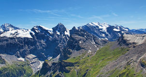 View from Mount Schilthorn Royalty Free Stock Images