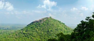 View from  mount Sigiriya Royalty Free Stock Photo