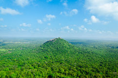 View from  mount Sigiriya Royalty Free Stock Image