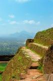 View from mount Sigiriya, Sri Lanka (Ceylon). Royalty Free Stock Photos