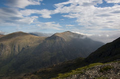 View from mount Snowdon Stock Photos