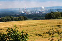 The view of Mount St. Anna on Coke Plant Zdzieszowice. In Poland Stock Photography