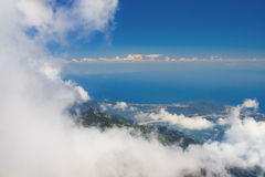 View from mount Tahtali, Kemer. Antalya province, Turkey Stock Images