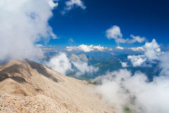 View from mount Tahtali, Kemer Stock Image