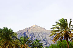View of the Mount Tahtali.Kemer, Turkey. Stock Image