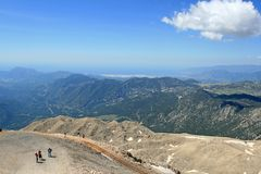 View from Mount Tahtali, Turkey Royalty Free Stock Photo