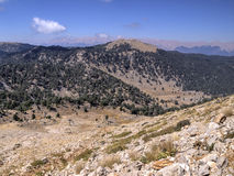 View from Mount Tahtali, Turkey Royalty Free Stock Photography