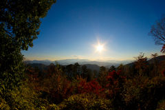 View from mount Takao Royalty Free Stock Photography