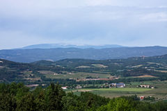 View of Mount Ventoux Royalty Free Stock Images
